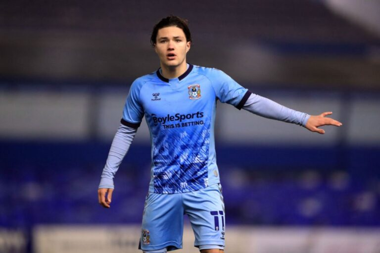 Coventry City's Callum O'Hare