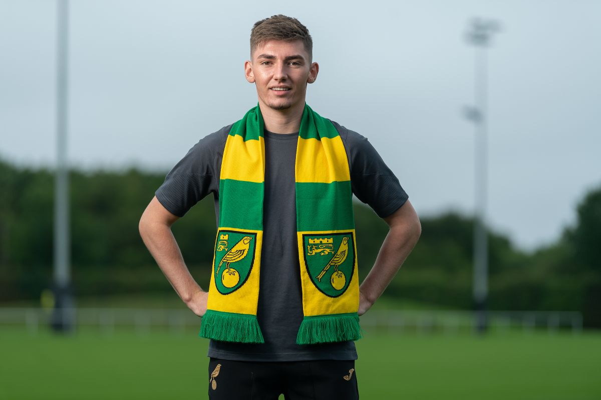 Billy Gilmour at Norwich
